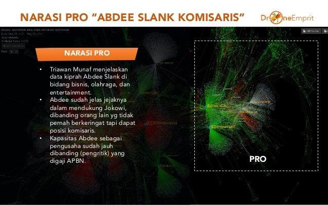 "NARASI PRO ""ABDEE SLANK KOMISARIS"" 4 PRO • Triawan Munaf menjelaskan data kiprah Abdee Slank di bidang bisnis, olahraga, d..."