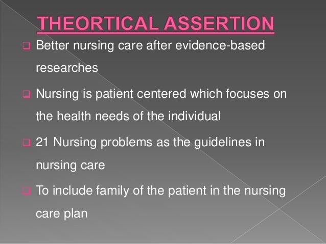 21 nursing problems