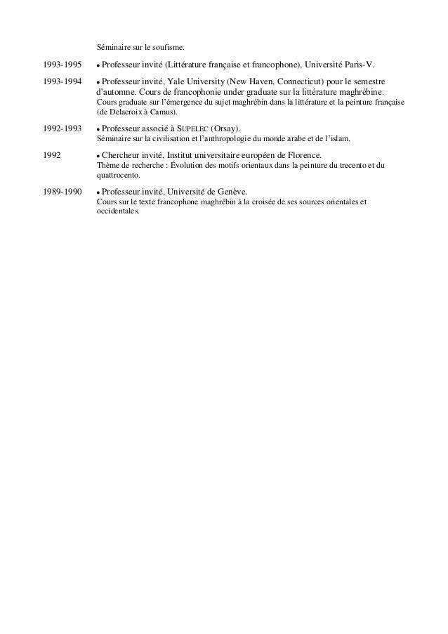 abdelwahab meddeb   cv  u0026 bibliographie
