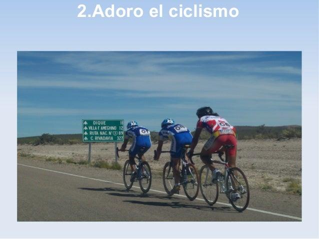 2.Adoro el ciclismo