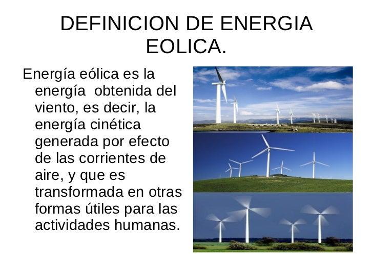 Fuentes De Energias
