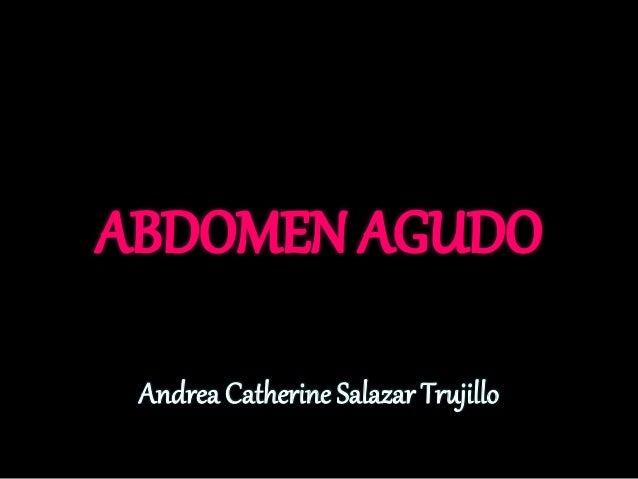 Andrea Catherine Salazar Trujillo