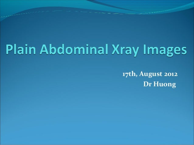 17th, August 2012 Dr Huong