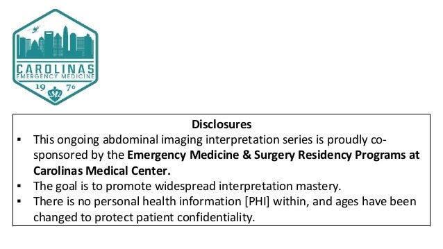 Drs. Rossi and Shreve's CMC Abdominal Imaging Mastery Project: December Cases Slide 2
