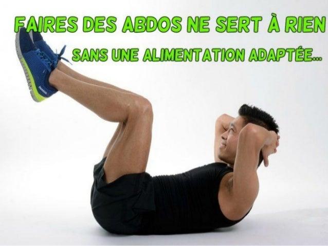Importance de l'alimentation adaptée pour faire des abdos www.b-naturel.fr BIENVENUE !!!
