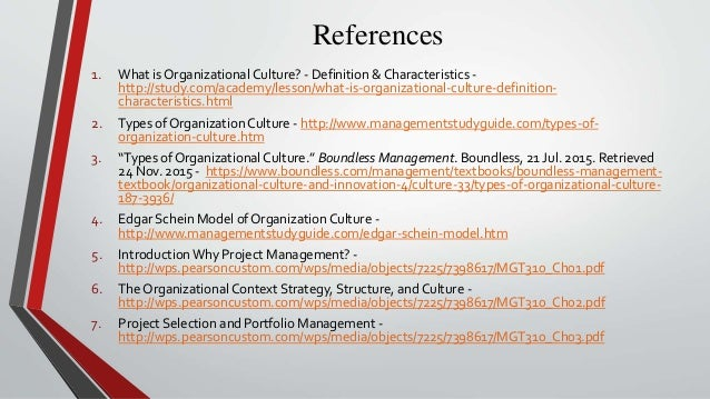 organisational culture and ways of managing According to needle (2004), organizational culture represents the collective values, beliefs and principles of organizational members and is a product of factors such as history, product, market, technology, strategy, type of employees, management style, and national culture culture includes the organization's vision, values, norms.