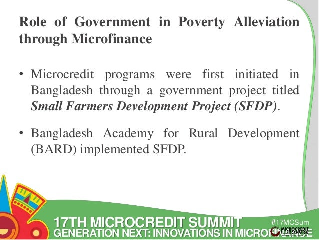 role of microfinance in the economic Microfinance is a banking service that is provided to unemployed and low- income individuals who have no other means of gaining financial services  get  a deeper understanding of the importance of interest rates and what makes them .