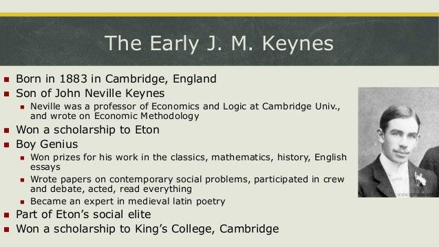 Examples List on John Maynard Keynes