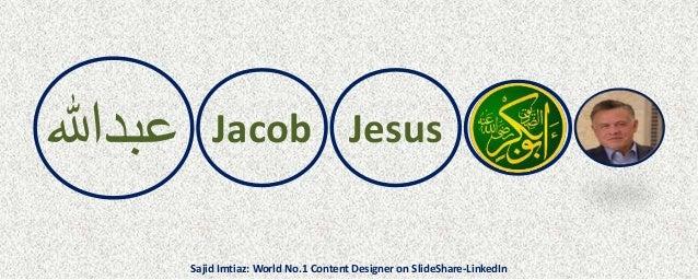 عبدهللا Jacob Jesus Sajid Imtiaz: World No.1 Content Designer on SlideShare-LinkedIn