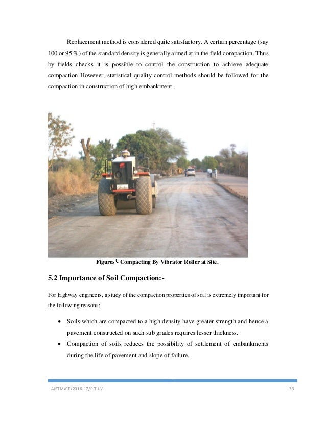 Highway construction or Road work report