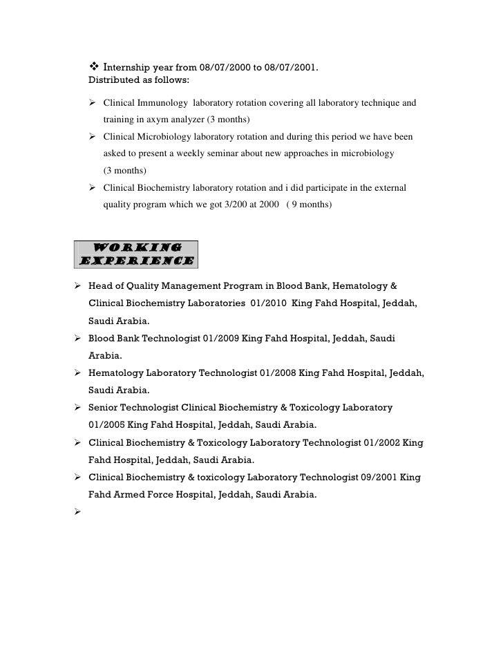 biochemistry lab techniques resume
