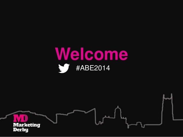 Welcome #ABE2014