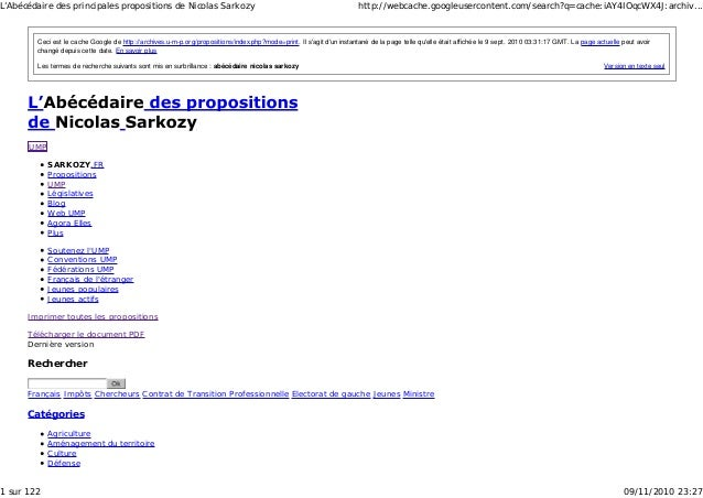 Version en texte seul Ceci est le cache Google de http://archives.u-m-p.org/propositions/index.php?mode=print. Il s'agit d...