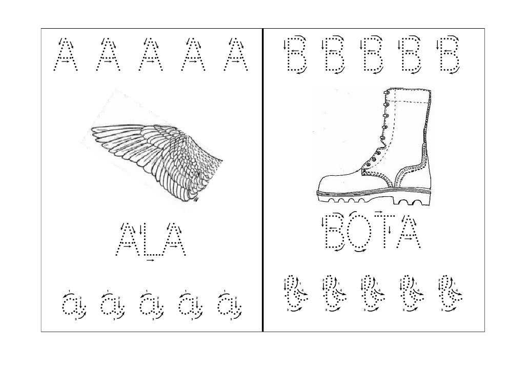 A A A A A   B B B B B  ALA        BOTAa a a a a   b b b b b