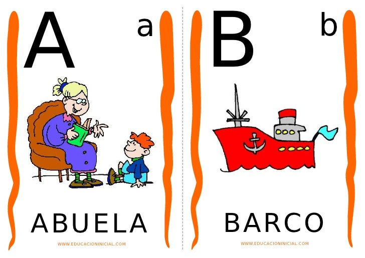 A                           a                                B                          bABUELA                          B...