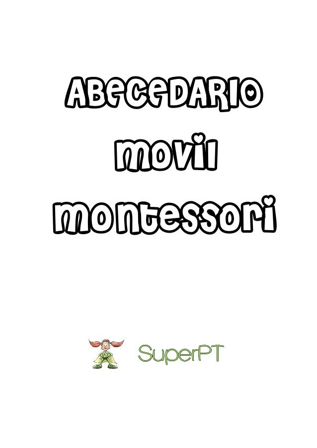 ABECEDARIO movil Montessori