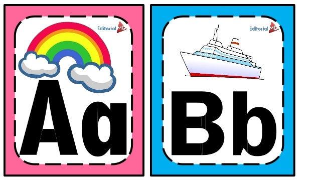 abecedario para niños