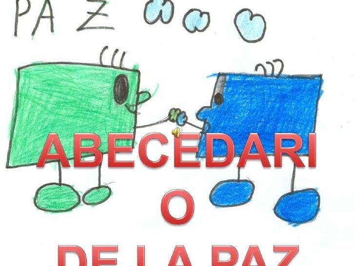 ABECEDARIO <br />DE LA PAZ<br />