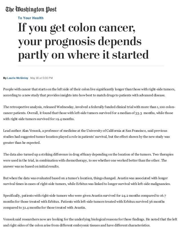 The Washington Post 5 18 16 Colon Cancer