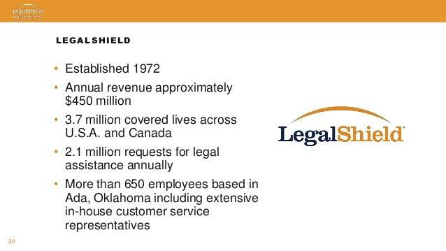Legal Shield DM Presentation USA