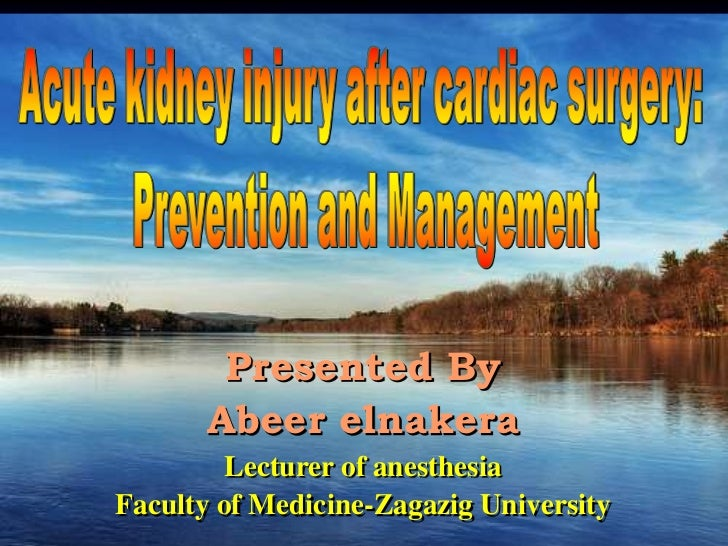Presented By       Abeer elnakera         Lecturer of anesthesiaFaculty of Medicine-Zagazig University RC (UK)