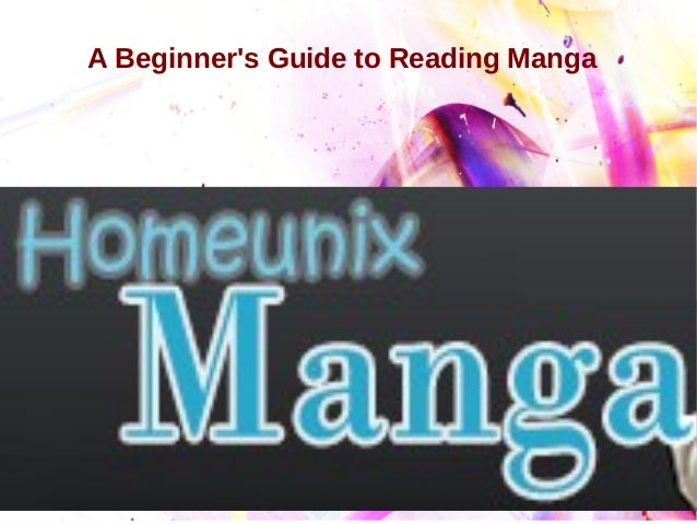 A Beginner's Guide to Reading Manga