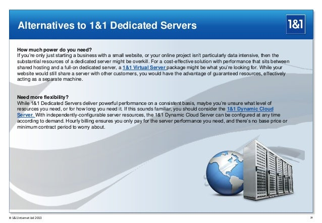 Dedicated server configuration n t