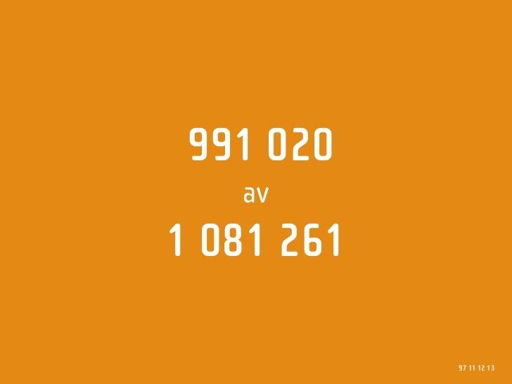 991 020    av 1081261              97 11 12 13