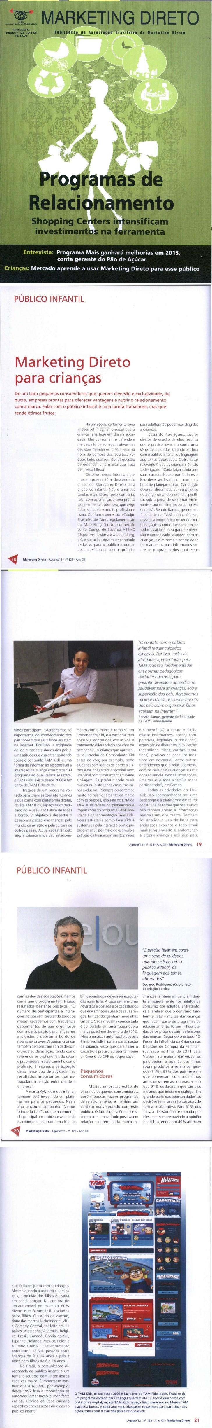 Marketing direto para o público infantil - Revista Marketing Direto (ABEMD) nº 123