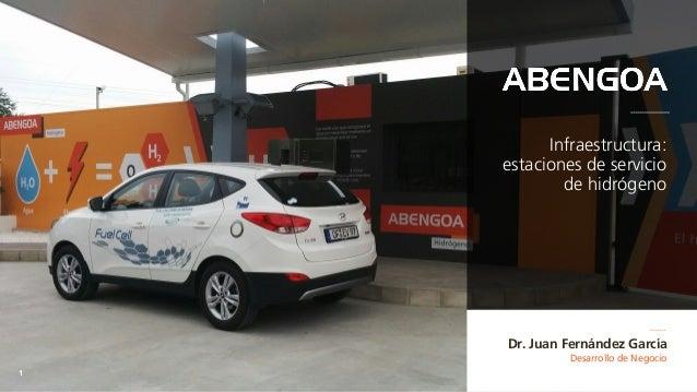 Desarrollo de Negocio 1 Dr. Juan Fernández García Infraestructura: estaciones de servicio de hidrógeno