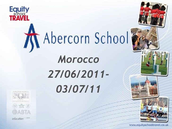 Morocco 27/06/2011- 03/07/11