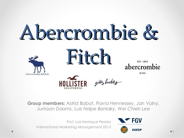 Abercrombie & Fitch Group members: Astrid Babot, Flavia Hennessey, Jan Volny, Jurriaan Daams, Luis Felipe Banlaky, Wei Chi...