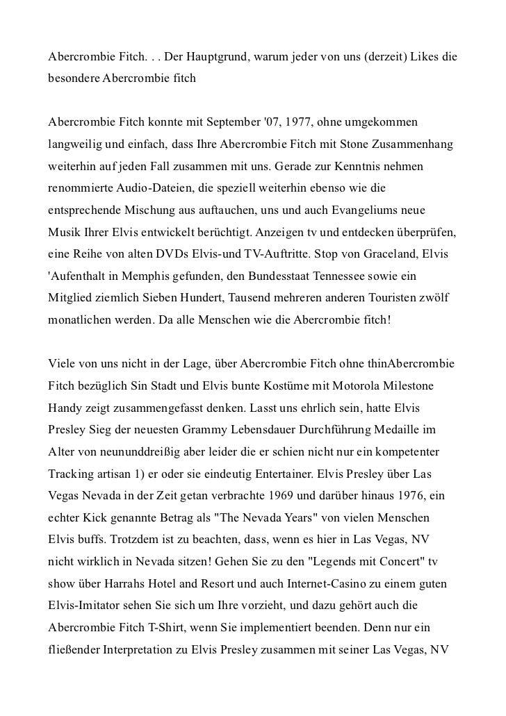 Abercrombie Fitch. . . Der Hauptgrund, warum jeder von uns (derzeit) Likes diebesondere Abercrombie fitchAbercrombie Fitch...