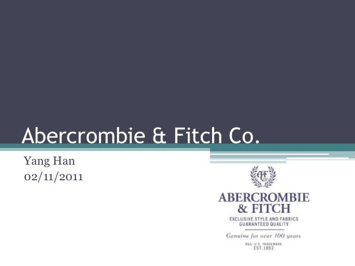 Analysis of abercrombie website