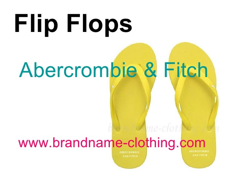 www.brandname-clothing.com Flip Flops   Abercrombie & Fitch
