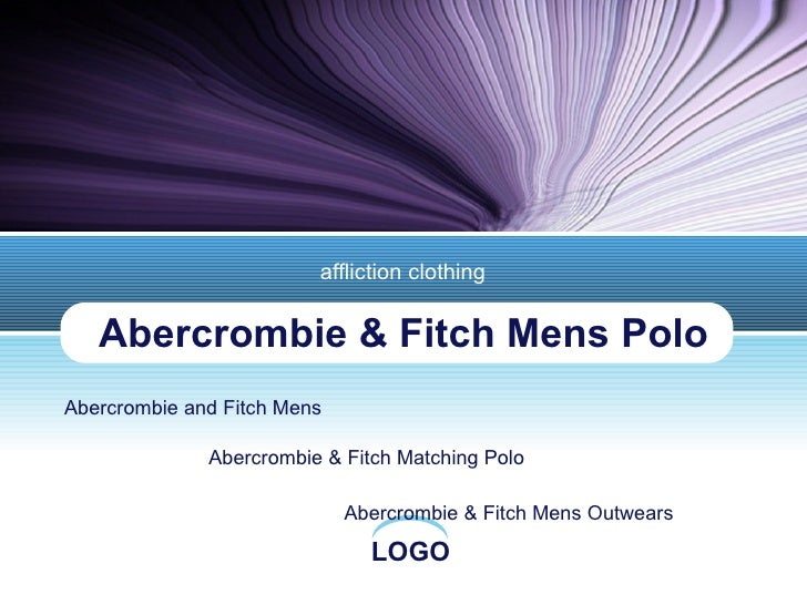 Abercrombie & Fitch Mens Polo affliction clothing Abercrombie and Fitch Mens Abercrombie & Fitch Matching Polo Abercrombie...