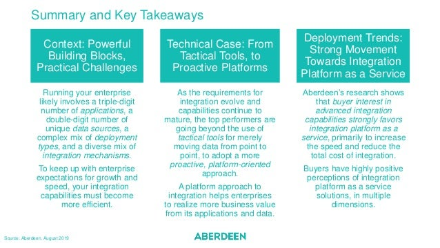 Summary and Key Takeaways Context: Powerful Building Blocks, Practical Challenges Technical Case: From Tactical Tools, to ...