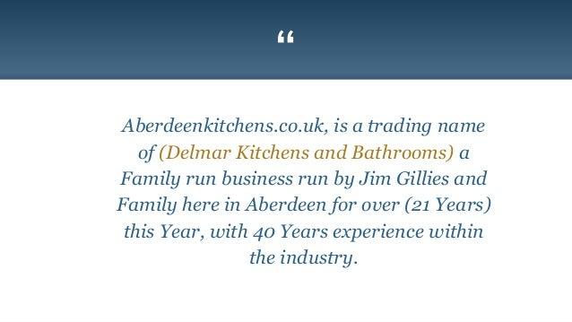 kitchen installation company in aberdeen