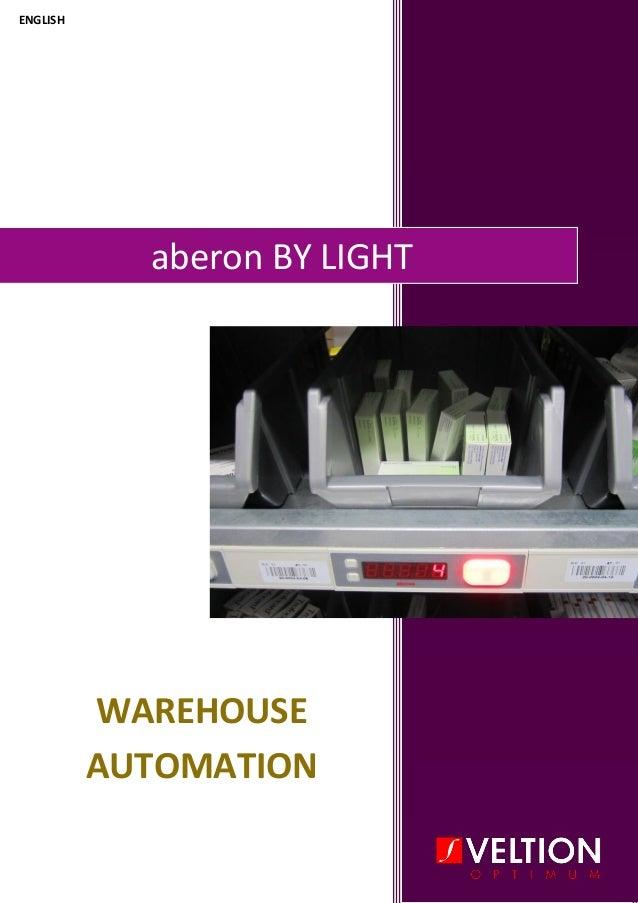aberon BY LIGHT WAREHOUSE AUTOMATION ENGLISH