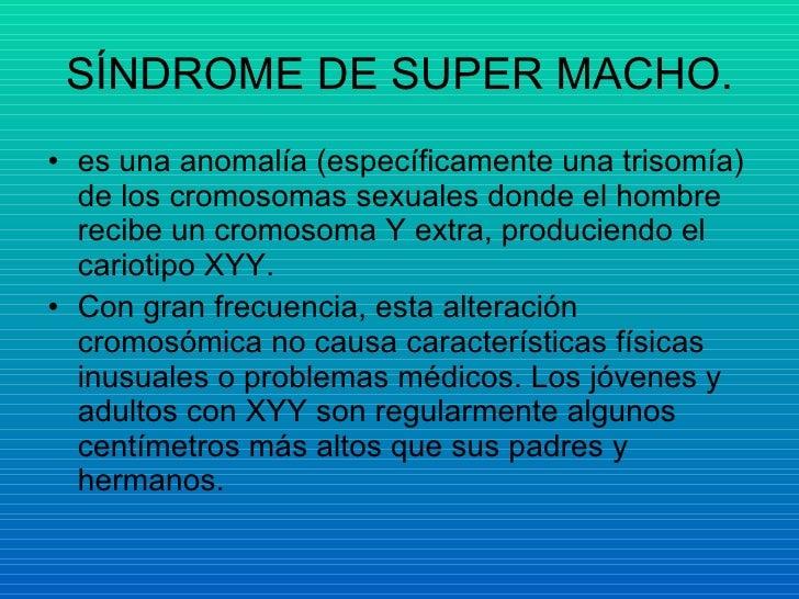 sindrome de supermacho