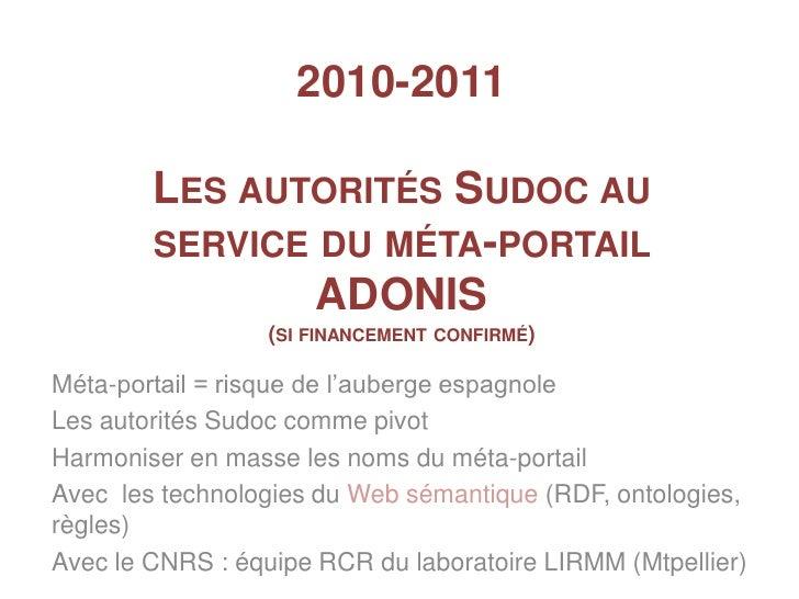Mettre nos données en réseau (données de l'IST en France)
