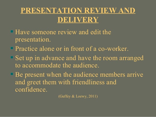 how to make presentation better