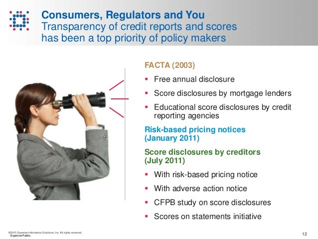 Consumers regulators and you are you meeting your fcra responsibil 12 reheart Choice Image