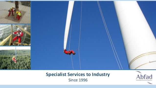 Specialist Services to Industry Since 1996