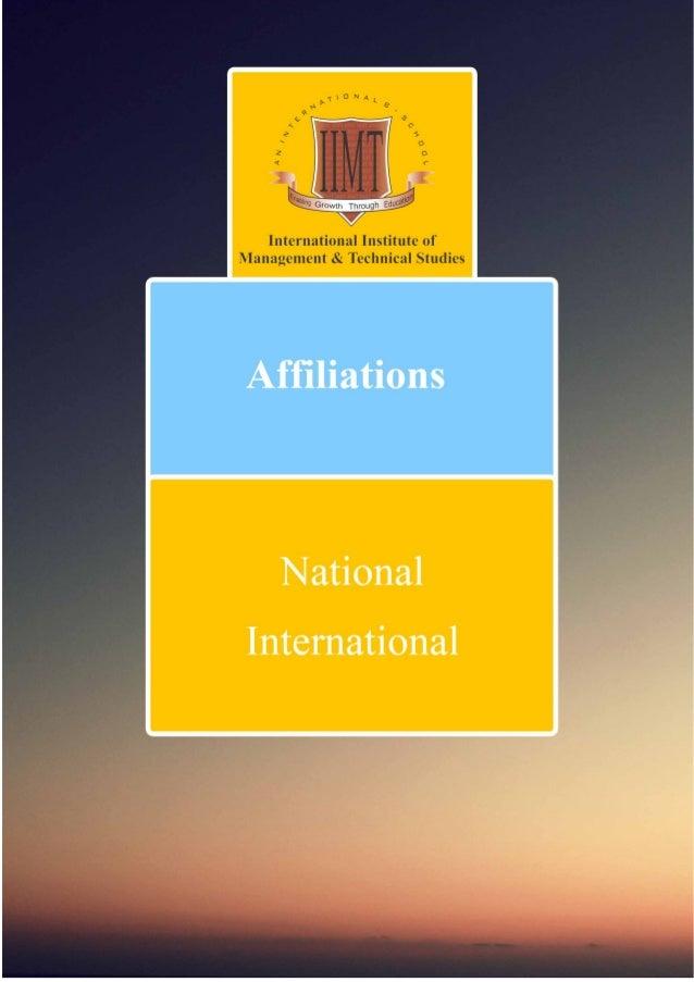 affiliation details