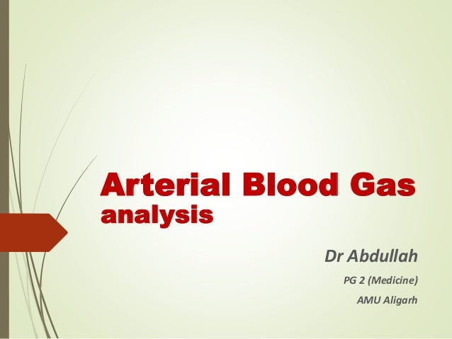 how to draw arterial blood gas