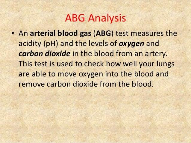 ABG Analysis & Interpretation Slide 2