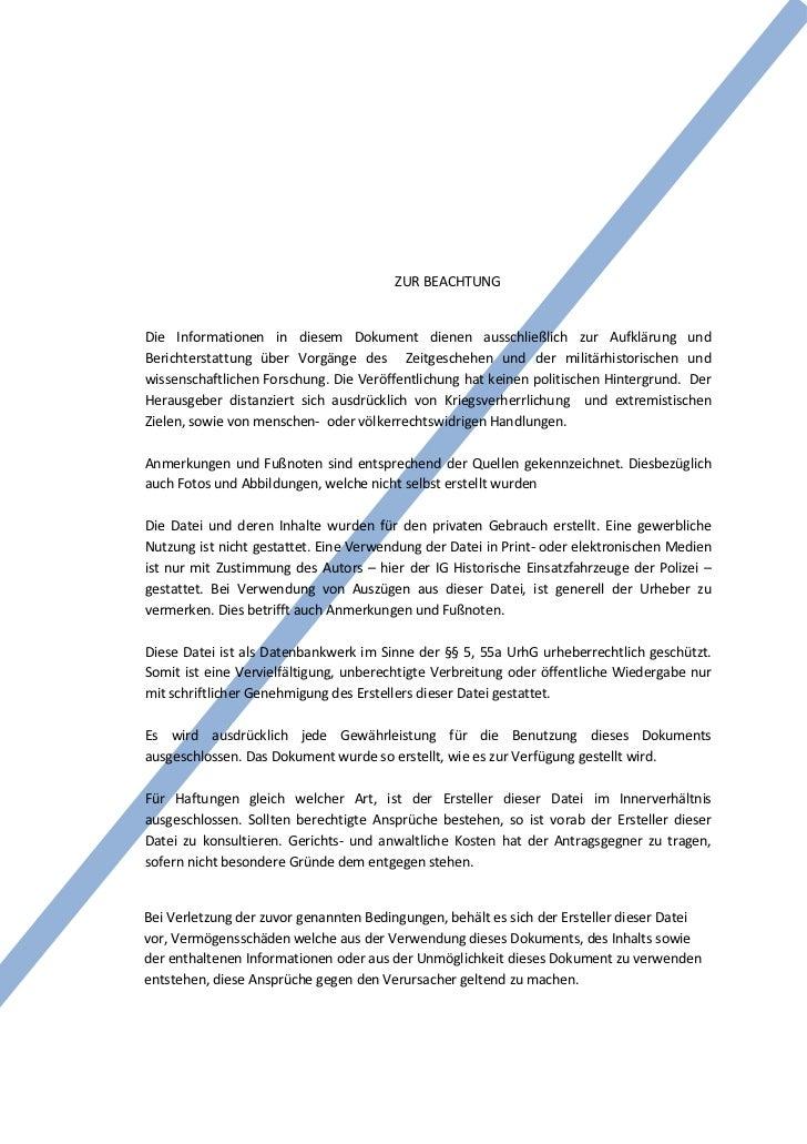ZUR BEACHTUNGDie Informationen in diesem Dokument dienen ausschließlich zur Aufklärung undBerichterstattung über Vorgänge ...