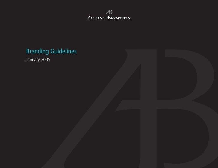 Branding Guidelines January 2009