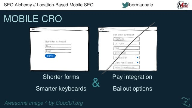 MOBILE APPS BY VERTICAL SEO Alchemy // Location-Based Mobile SEO @bermanhale